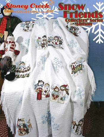 Book 520 Snow Friends Collectors' Series Afghan THUMBNAIL