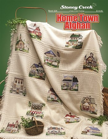 Book 524 Home Town Afghan THUMBNAIL