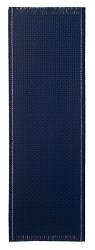 Bookmark - 14ct Navy w/ White Trim Backstitch MAIN