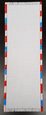 Bookmark - 14ct White w/ Patriotic Trim MAIN
