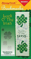 Bookmark Chart - Luck O' The Irish