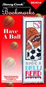 Bookmark Chart - Have A Ball THUMBNAIL
