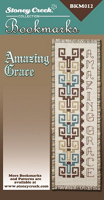 picture of Stoney Creek cross stitch Bookmark Chart - Amazing Grace MAIN