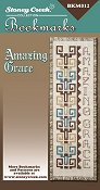 picture of Stoney Creek cross stitch Bookmark Chart - Amazing Grace