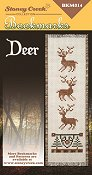 picture of Stoney Creek cross stitch Bookmark Chart with Deer
