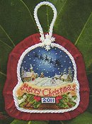 Blackberry Lane Designs - Midnight Ride Ornament