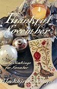 Blackbird Designs - Three Stockings - Thankful November THUMBNAIL