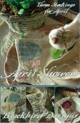 Blackbird Designs - Three Stockings - April Showers THUMBNAIL