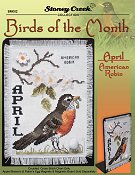 Bird of the Month - April (American Robin) THUMBNAIL