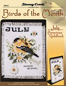 Bird of the Month - July (American Goldfinch) THUMBNAIL