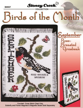 Bird of the Month - September (Rose-Breasted Grosbeak) MAIN
