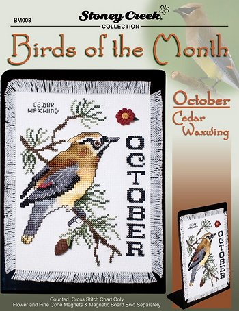 Bird of the Month - October (Cedar Waxwing) MAIN