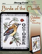 Bird of the Month - October (Cedar Waxwing)