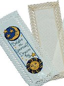 Lace Bookmark 18ct Aida