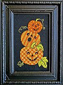Bobbie G Designs - Triple Jack-O-Lanterns