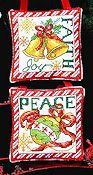 Bobbie G Designs - Faith, Peace Ornaments