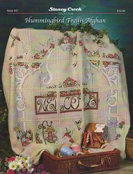 Book 437 Hummingbird Trellis Afghan Stoney Creek Online