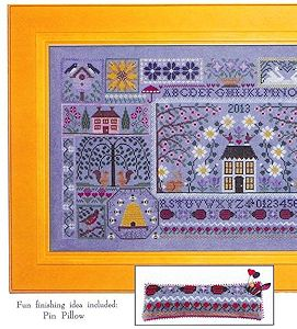 Blue Ribbon Designs - Blue Jeans and Daisies Mystery Sampler Part 2 MAIN