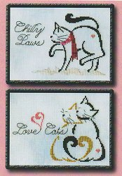 Brittercup Designs - Britty Kitty Monthly Series January/February