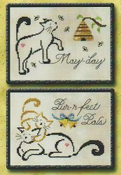 Brittercup Designs - Britty Kitty Monthly Series  - May/June