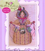 Brooke's Books Publishing - Sweet Treat Angels - Peg The Plum Pudding Angel THUMBNAIL