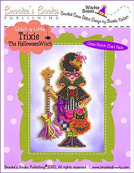 Brooke's Books Publishing - Witchie Sisters - Trixie The Halloween Witch MAIN