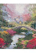 Thomas Kinkade - Brookside Hideaway