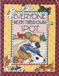Bucilla Cross Stitch Kit - Everyone Needs Their Own Spot