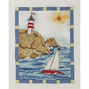 Bucilla Cross Stitch Kit - Sailboat