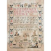 Bucilla Heirloom Collection - M.A. Hofman's Sampler, 1848 Kit