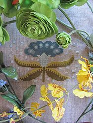 By The Bay Needleart - Funky Flowers - Molly MAIN