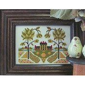 By The Bay Needleart - Early American Garden_THUMBNAIL