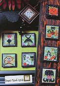 By The Bay Needleart - Stitch An Inch - Halloween THUMBNAIL