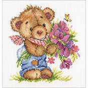 RTO Cross Stitch Kit - Giving You Flowers