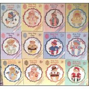 Designs By Gloria & Pat - Cherished Teddies Roly Poly's THUMBNAIL