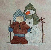 Carolyn Manning Designs - Frosty Fishing Friends