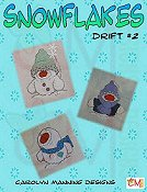 Carolyn Manning Designs - Snowflakes Drift #2 THUMBNAIL
