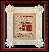 Country Cottage Needleworks - Santa's Village - North Pole Post Office THUMBNAIL