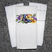 KitchenMates Towel White/White THUMBNAIL