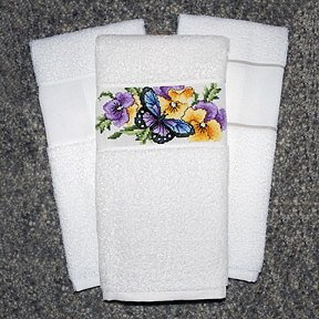 KitchenMates Towel White/White MAIN