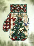 Mill Hill Bead Kit Charmed Mitten - Star Topped Tree THUMBNAIL