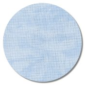 "Cashel Linen 28ct Vintage Blue Whisper - 18"" x 27"" (Fat Quarter)"