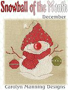 Carolyn Manning Designs - Snowball of the Month - December