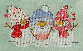 Carolyn Manning Designs - Flakey Friends - Be Mine MAIN