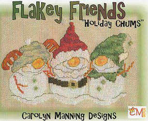 Carolyn Manning Designs - Flakey Friends - Holiday Chums MAIN
