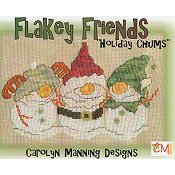 Carolyn Manning Designs - Flakey Friends - Holiday Chums