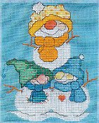 Carolyn Manning Designs - Flakey Friends - Pile of Pals THUMBNAIL