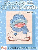 Carolyn Manning Designs - Snowball of the Month - January