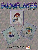 Carolyn Manning Designs - Snowflakes Drift #1 THUMBNAIL