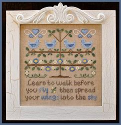 Country Cottage Needleworks - Walk Before You Fly MAIN